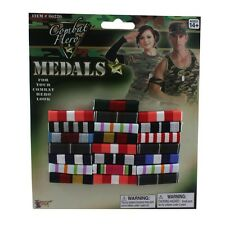 Costume Military Block Of Bar Ribbon Medals Costume Military Ribbons Medal