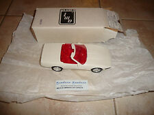 CORVETTE  C4  CONVERTIBLE AMERICA CORVETTE ARTIC WHITE DEALER-PROMO-MODEL