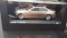 1/43 Paragon Models Bmw 7 series G11 G12 dealer edition Cashmere 2016 2017