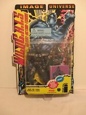 """Jim Lee's Wild C.A.T.S. Pike 6"""" Action Figure Special Collector Card Rare"""