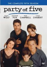 PARTY OF FIVE : COMPLETE SEASON FIVE 5 - Region Free DVD - Sealed