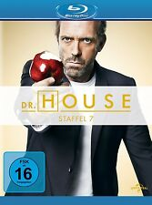 DR.HOUSE SEASON 7 Robert Sean Leonard, Omar Epps, Hugh Laurie 5 BLU-RAY NEU