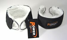 ANKLE STRAP'S Gym Machine Attachement  WOOL/NYLON  sold in Pairs