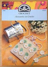 DMC  pattern booklet Accessories in Crochet