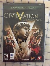 CIVILIZATION V GODS & KINGS  EXPANSION MAC * ORIGINAL MANUFACTURED SEALED *