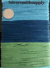 1mm Waxed cotton beading cord 108 feet 3 colors 12yd ea necklace woven lace m059