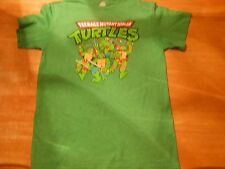 OFFICIAL TURTLES TMNT CHARGING TURTLES CHARACTER GREEN T-SHIRT SIZE:M **NEW**