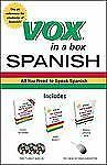Vox in a Box Spanish (VOX Dictionary Series) by Vox