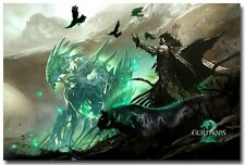 "Guild Wars 2 GW2 Ranger Class Game Poster 1 on Huge Silk Fabric Canvas 36""x 24"""