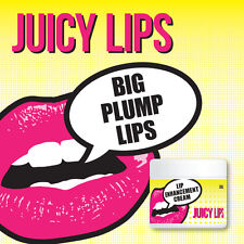 JUICY LIPS LIP PLUMPING CREAM BIG PLUMP LIPS SOFT MOIST BIG VOLUME FULLER LIPS