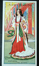 The Mikado  Gilbert and Sullivan  Katisha  1920's Vintage Colour Card  VGC