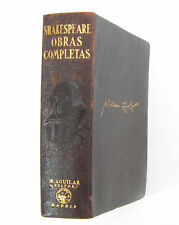 Aguilar. 1941 - William Shakespeare: Obras Completas - Teatro - Plena piel