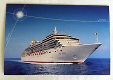 'MV ARCADIA' Ocean Liner P & O CRUISE SHIP Colour POSTCARD
