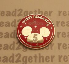 Disney Pin HKDL 5th Anniversary Guest Research