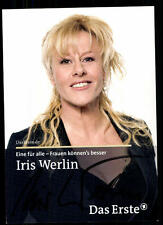 Iris Werlin Eine für alle Autogrammkarte Original Signiert ## BC 52074