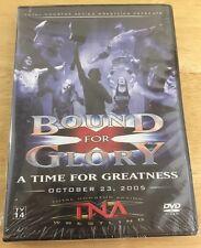 TNA Wrestling - Bound for Glory 2005 (DVD, 2006) Wwf Wwe ECW Wcw Nxt New