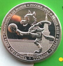 Burkina Faso 2017 World Cup 100 Francs Crown Coin,BU,Mint Pack