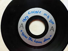 Test Pressing LIVING IN A BOX Blow the house down MONO FACE 14359