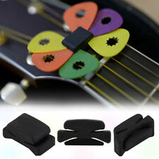 Wedgie Bass Guitar Headstock Pick Holder Rubber Pick Headstock Guitar Picks*/*