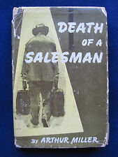 DEATH OF A SALESMAN by ARTHUR MILLER Actor BRADFORD DILLMAN'S Copy wi Bookplate