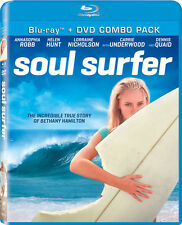Soul Surfer [2 Discs] [Blu-ray/DVD] (2011, Blu-ray NEW) BLU-RAY/AWS2 DISC SET
