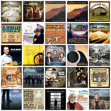 25 BLUEGRASS CD'S  wholesale lot NEW