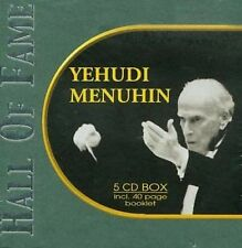 YEHUDI MENUHIN - Hall of Fame(Violin) (CD, 2002, International) 5-CD Box Set NEW