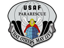 4x4 inch USAF Pararescue That Others May Live Seal Sticker -us military logo air