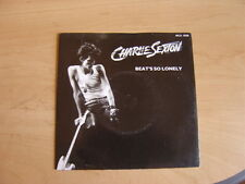 "Charlie Sexton: Beat's So Lonely  7"": 1985 UK Release: Picture Sleeve."