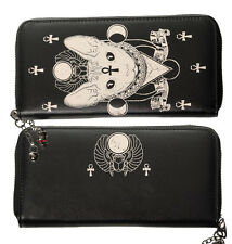 Banned Bastet egiziana gatto siamese KITTY poteri occulti illuminati Wallet Purse