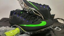 New Nike Zoom Superfly R4 Mens sz 8.5 Sprint Track Cleats 526626 035 Black Green