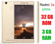 XIAOMI REDMI 3S PRIME GOLD 32GB|RAM 3GB MOBILE+W/F MI BAND MULTI COLOR LED D'PLA