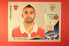 PANINI CHAMPIONS LEAGUE 2012/13 N. 469 MARTINS BENFICA BLACK BACK MINT!