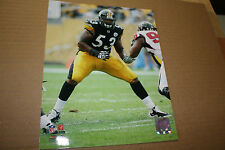 PITTSBURGH STEELERS MAURKICE POUNCEY UNSIGNED 8X10 PHOTO POSE 2