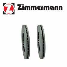 2 Zimmermann Front Brake Disc Rotor Set 4-Jaguar S-Type Vanden Plas XF XJ8 XK