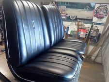 1966 Chevelle,El Camino Bucket Seats Restored Black