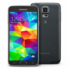 New Samsung Galaxy S5 SM-G900A 16GB Black 4G LTE AT&T Unlocked Smartphone