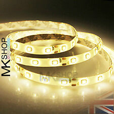 3528 Warm White 5M SMD 300 LED Flexible Strip Light 12V DC IP20 Kitchen Cuttable
