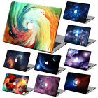 Galaxy Painting Hard Case Cover +KB +SP For Macbook Pro Air 11