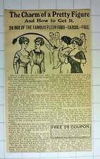 1912 Famous Flesh Food Sargol Will Get You A Pretty Figure