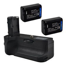 Pro Wireless Remote Battery Grip Pack for Sony NEX E A7 II+ 2x NP-FW50