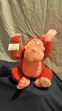Hallmark Valentines Pick Me Up and I Go APE Plush Monkey with sound and motion