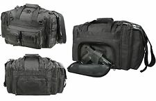 Black Concealed Carry Bag - Law Enforcement Security Tactical MOLLE Gear Bags