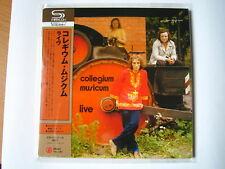 "COLLEGIUM MUSICUM ""Live""  Japan mini LP SHM CD"
