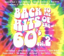 BACK TO THE HITS OF THE 60'S VOL. 2 2CD DIGIPAK BRAND NEW