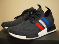 NEW ADIDAS NMD R1 PK Tri Colour BLACK UK8 US8.5 DS boost