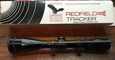 Red field Tracker 3-9x40 Rifle Scope Vintage With Mounts