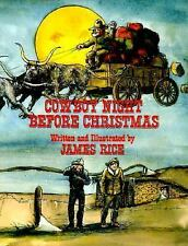 Cowboy Night Before Christmas (The Night Before Christmas Series)-ExLibrary