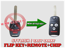 Blade NEW Flip Switch Remote Key FOB Keyless For 08-12 Honda Accord coupe KC
