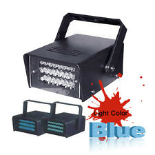 24 LED Strobe Light Lights DJ Disco Operated Party Stage Lighting Effect Light